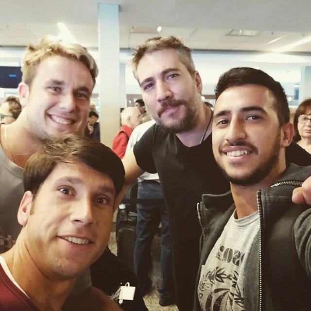 Llegar a Buenos Aires y cruzarnos con nuestro compadre Albertohellip
