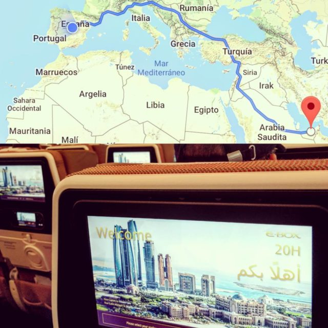 Destino Abu Dhabi etihadairways abudhabi emirates